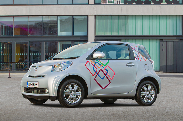 Toyota iQ Customisation: Box