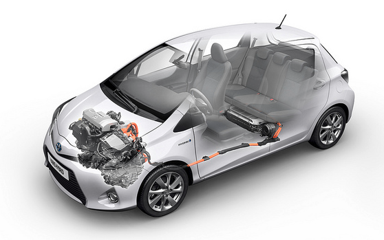 Toyota Yaris Hybrid powertrain