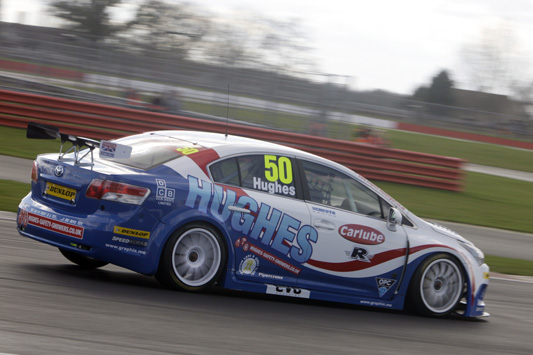 Tony Hughes Speedworks Motorsport BTCC Toyota Avensis