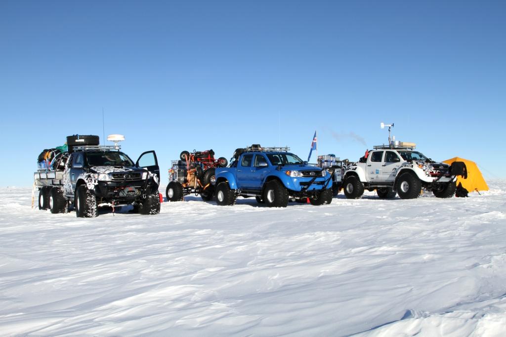 Antarctic Hilux