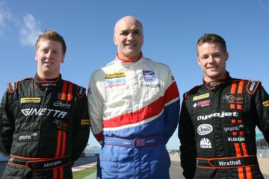 Adam Morgan, Tony Hughes, Frank Wrathall