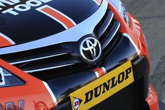 Frank Wrathall Dynojet Racing BTCC Toyota Avensis