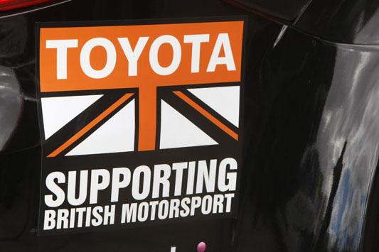 Toyota - supporting British motorsport