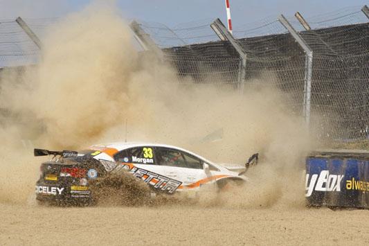 Adam Morgan Speedworks Motorsport BTCC Toyota Avensis