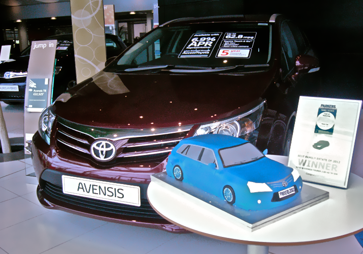 Toyota Avensis / Parkers Award