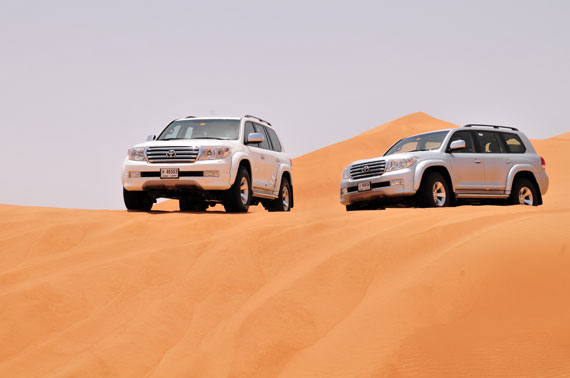 Toyota Of The Desert >> Arctic Trucks Aims To Conquer Fire And Ice Toyota