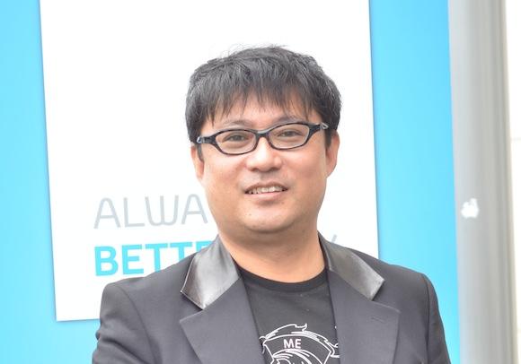 Makoto Okabe, chief engineer of Toyota Prius+