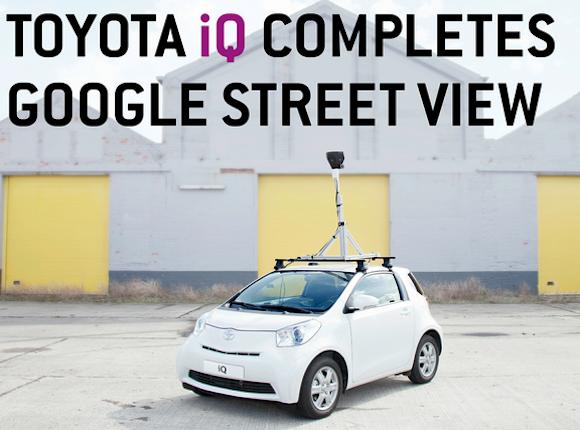 Toyota iQ streetview