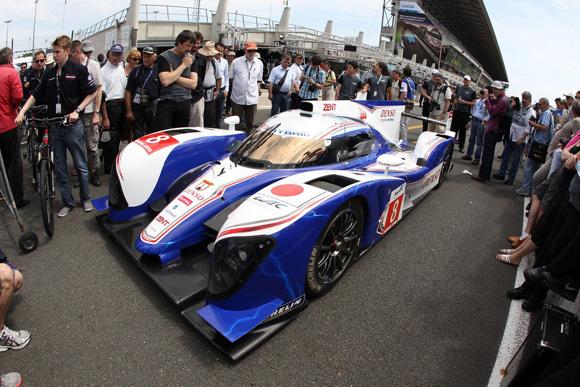 Motor Racing - Le Mans 24 Hours Test - Day 1 - Le Mans, France