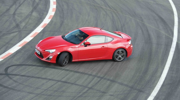 Toyota GT86 in Top Gear magazine