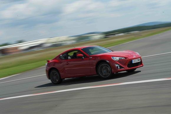 Toyota GT86 wins Top Gear Speed Week