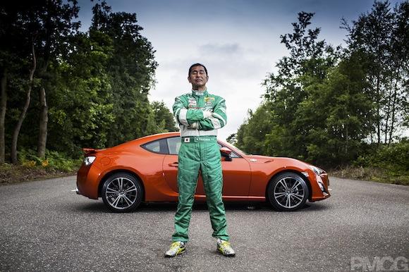 Keiichi Tsuchiya and the Toyota GT86