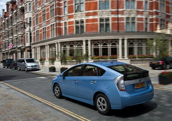 Toyota Prius Plug-in hybrid driving