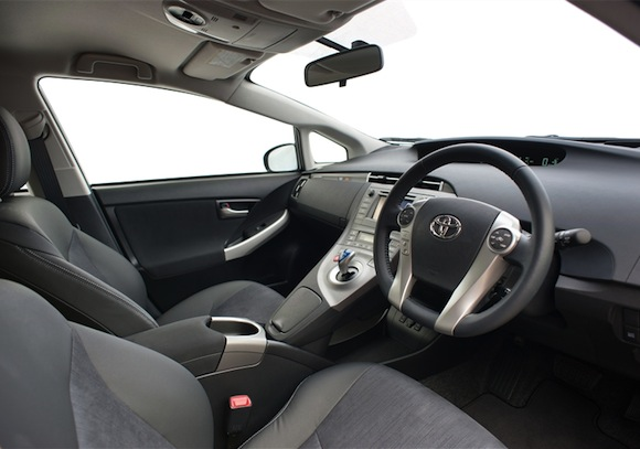 Toyota Prius Plug-in hybrid interior