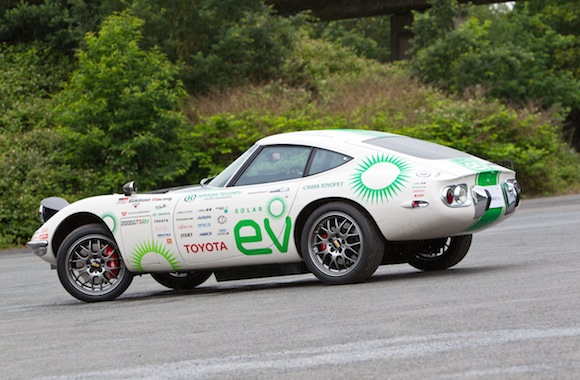 2000GT Solar Electric Vehicle