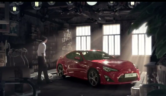 Toyota GT86 TV ad
