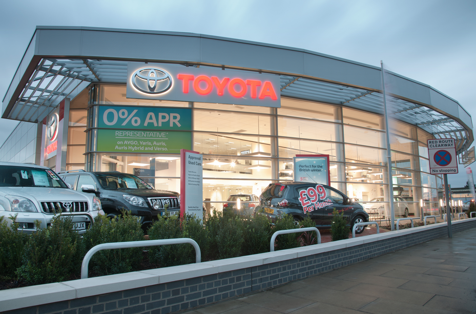 Toyota Car Dealers In The Uk