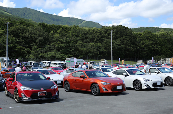 Toyota GT86 at Fuji 86 Style