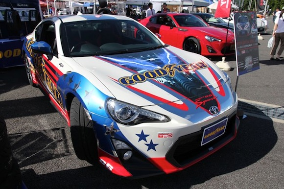 Modified Toyota GT86 at Fuji 86 Style event