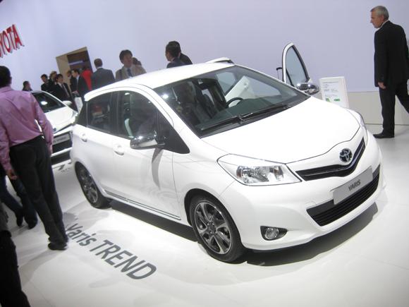 Toyota Yaris Trend at the Paris Motor Show  Toyota