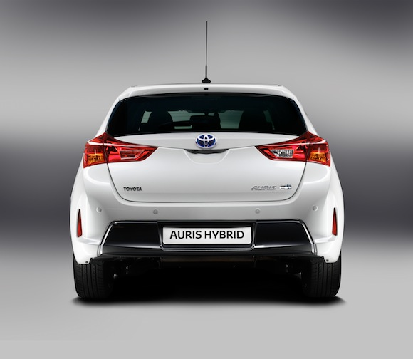New Toyota Auris Hybrid rear
