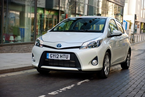 Toyota enters Yaris Hybrid in 2012 MPG Marathon