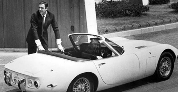 Toyota Official Site >> Toyota 2000GT is Bond's favourite Bond car - Toyota