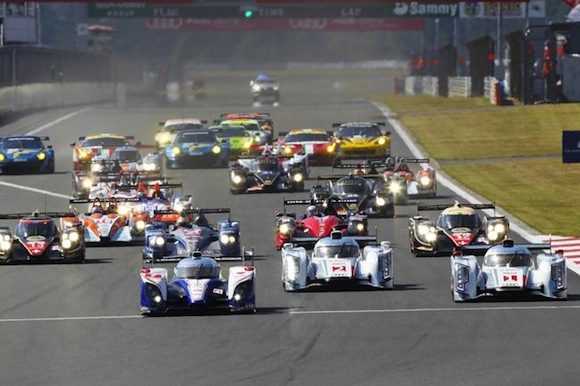 Toyota TS030 Hybrid at World Endurance Championship Fuji