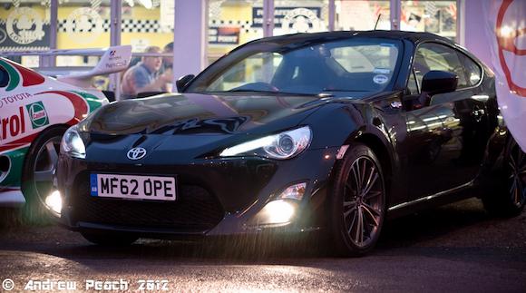 Black Gt86 Toyota