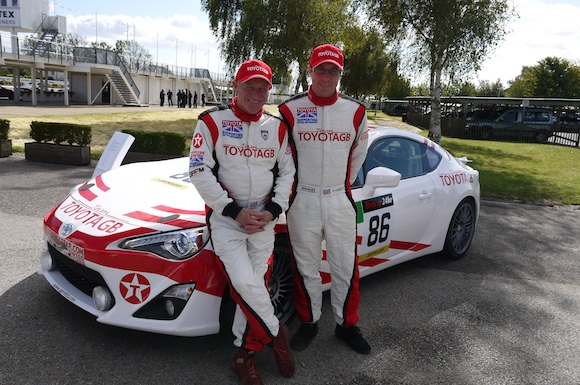 Chris and Stefan Hodgetts and GT86