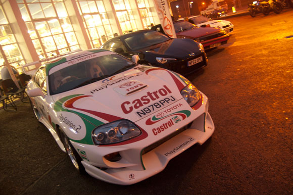 Castrol Supra at Ace Cafe