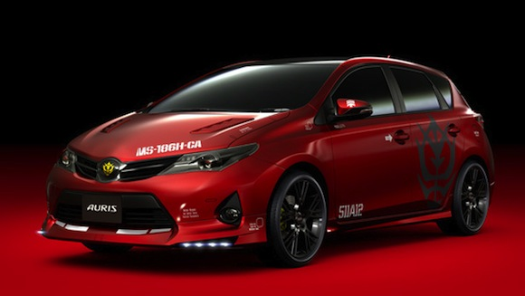 New Toyota Auris Gets The Anime Treatment Video Toyota