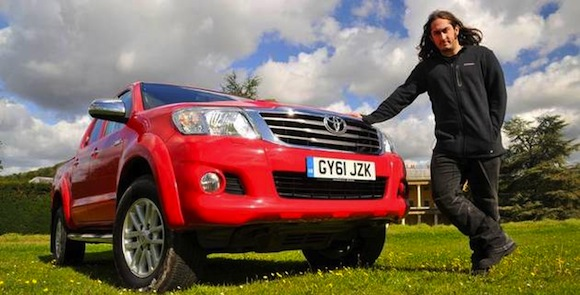 Ross Noble Toyota Hilux