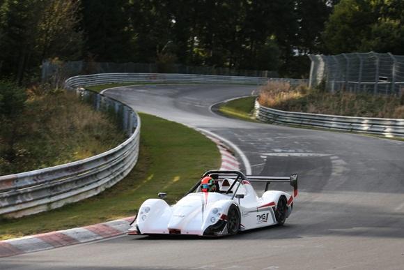 Toyota EV P002 electric race car