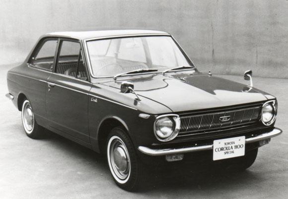 Toyota Corolla Generations 1966 1970 Toyota