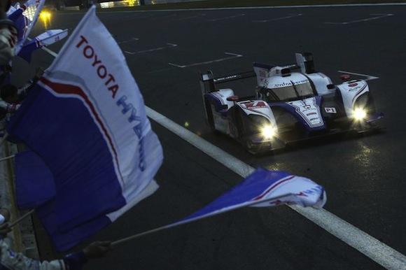 Toyota TS030 Hybrid at Fuji Speedway