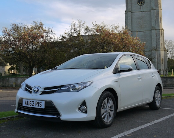 New Auris exclusive first drive