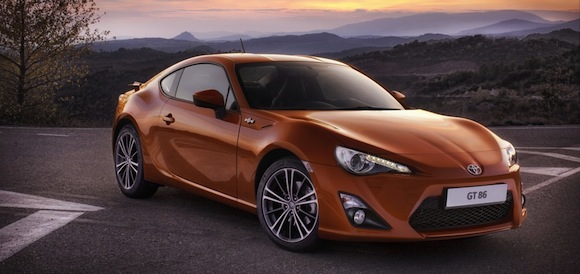 Toyota GT86 orange
