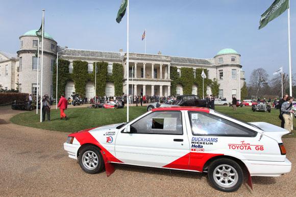 Corolla AE86 historic rallying