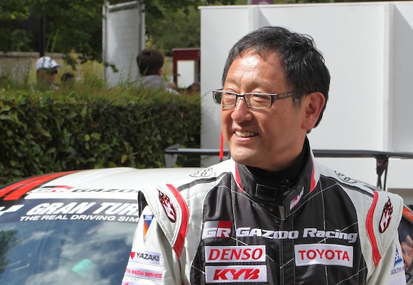 Akio Toyoda Goodwood