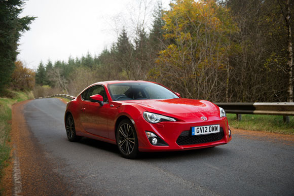 Toyota GT86 wins Top Gear Car of the Year 2012