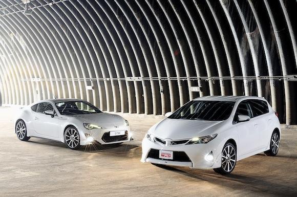 Toyota TRD GT86 and TRD Auris