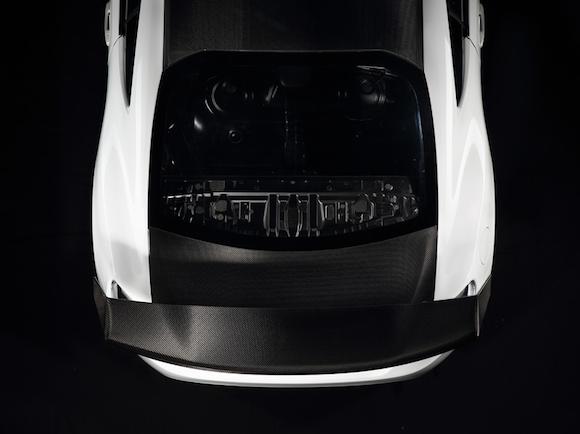 Gazoo GT86 roof