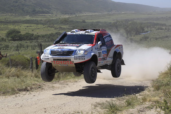 Toyota Hilux Begin 2014 Dakar Race Toyota Uk News | Autos Post