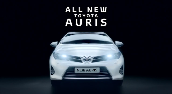 Toyota Auris advert