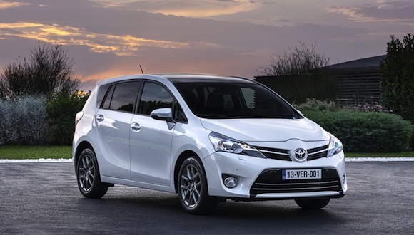 New Toyota Verso front 3/4 static