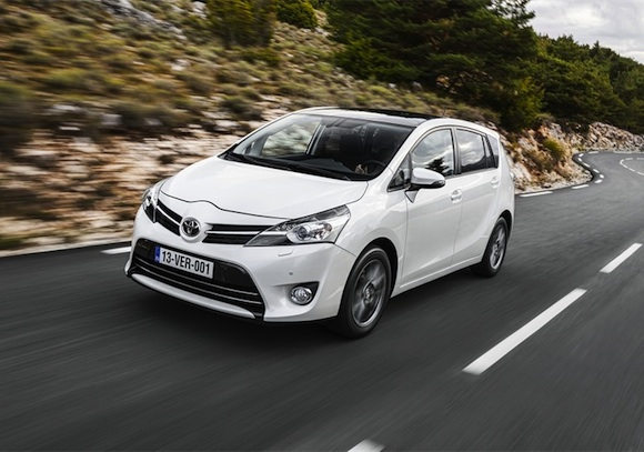 New Toyota Verso driving