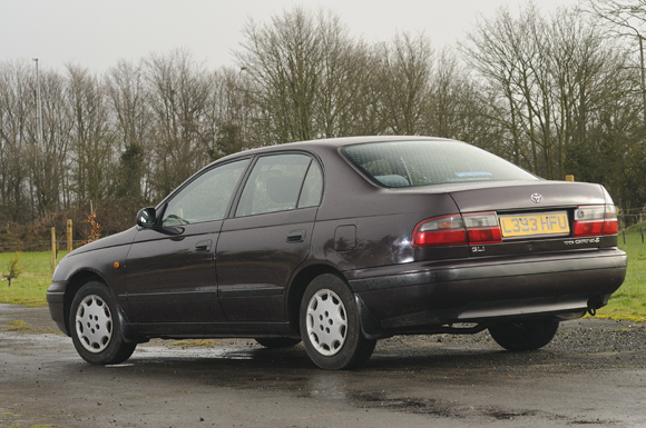 Britain's oldest Toyota Carina E 3