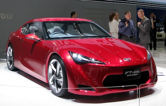 Toyota FT 86 Concept Design Inspirations