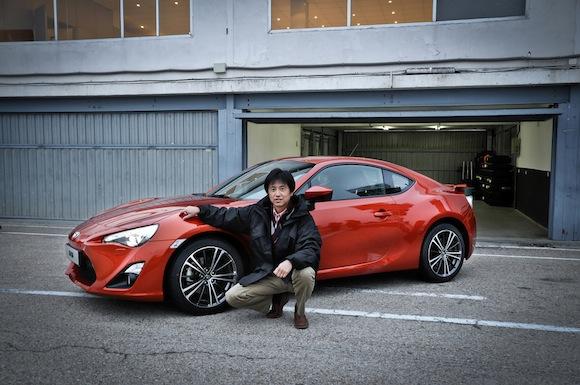 GT86 and Tetsuya Tada